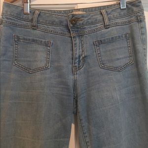 CAbi size 6 flare jeans.